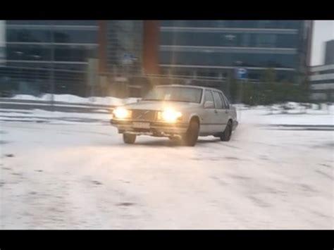 volvo  winter drift youtube