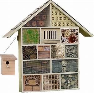 Abri à Insectes : htel des insectes trs grand modle en bois bois poterie ~ Premium-room.com Idées de Décoration