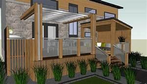 rampe de patio recherche google exterieur pinterest With modele de plan maison 14 firme de design et decoration dinterieur designer