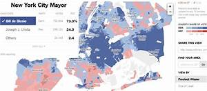 Maps Mania: Mapping the New York City Mayoral Results