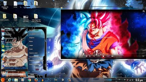 descargar tema dragon ball super  windows  youtube