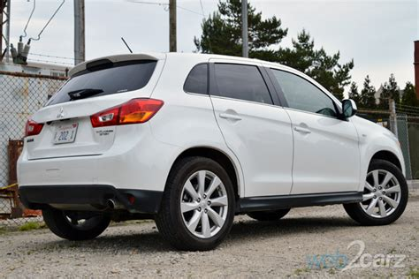 Review Mitsubishi Outlander Sport by 2014 Mitsubishi Outlander Sport Se Awc Review Web2carz