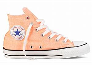 Converse Chuck Taylor All Star Hi Top Neon Orange F