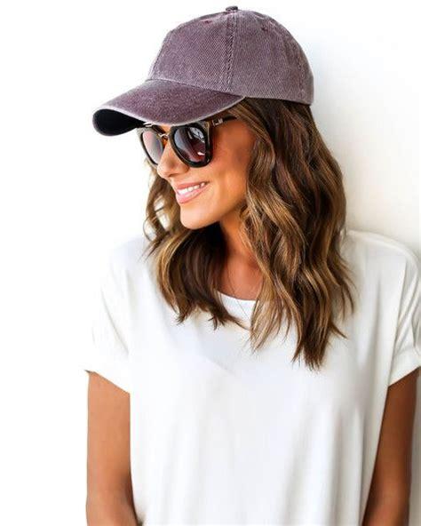 loved baseball cap cute hair styles fashion hat