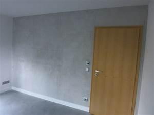 Wand In Betonoptik : wand in betonoptik appel malermeisterbetrieb ~ Sanjose-hotels-ca.com Haus und Dekorationen