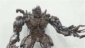 THREEA 3A TRANSFORMERS DOTM MEGATRON UNBOXING & REVIEW ...  Transformers