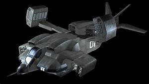 Cheyenne UD 4L Dropship Statki Kosmiczne Sagi Alien