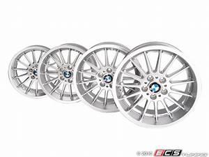 genuine bmw 3611020 18quot style 32 radial spoke wheel With bmw style 32 wheels