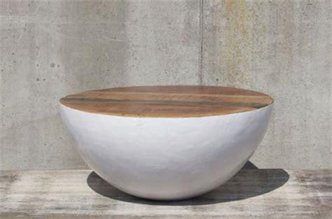 design couchtisch rund design couchtisch bowl small 70x70 cm beistelltisch sofatisch holz weiss rund ebay