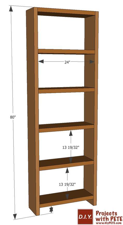 Bookshelf Plans diy simple bookshelf plans pallets woodworking ideas