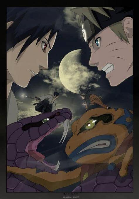 sasuke uchiha  naruto uzumaki shippuden