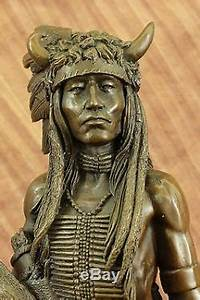 Southwestern Art Gallery Mohican Indian Warrior Native ...
