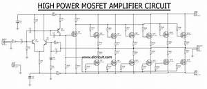 High Power Mosfet Amplifier Irf540n
