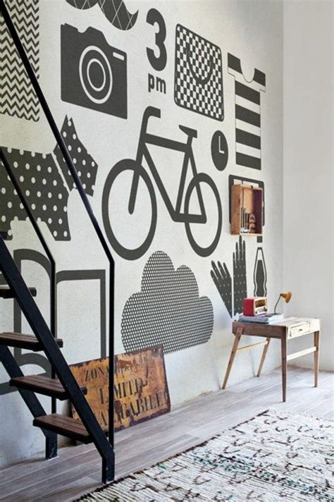 Wandgestaltung Mit Farbe Muster by Wandgestaltung Mit Farbe Wand Streichen Ideen Muster