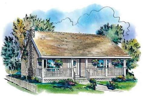 Country Style House Plans 900 Square Foot Home 1 Story