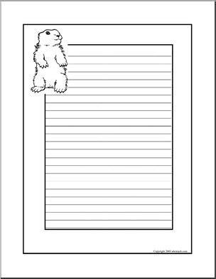 Groundhog Writing Paper Quality Custom Essays Groundhog Writing