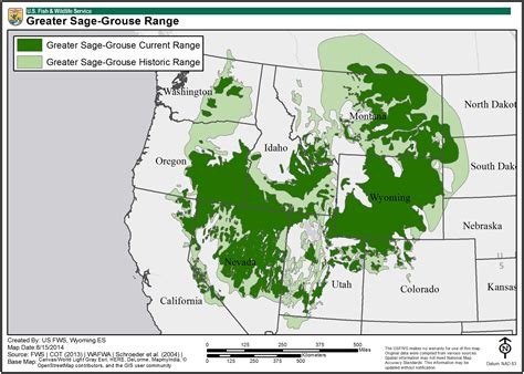 greater sage grouse maps