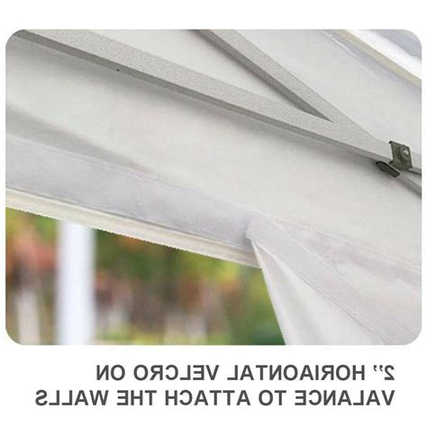 replacement patio canopy top cover fit ez