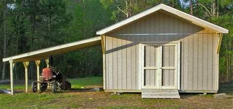 Storage Shed with Carport   Cardinal Buildings: Storage