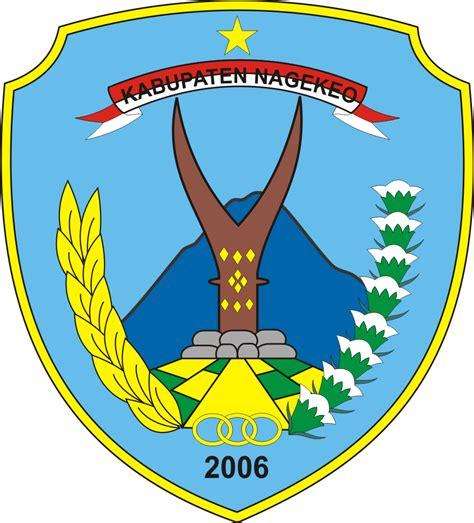 logo kabupaten nagekeo logo lambang indonesia