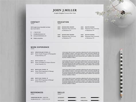 resume template  word  year resumekraft