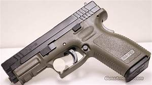 Springfield Xd9 Od 9mm Olive Drab Green For Sale