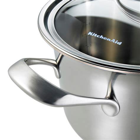 amazoncom kitchenaid kccehst copper core  quart saute  helper handle  lid cookware