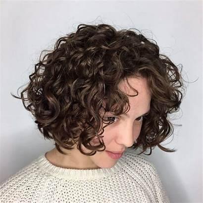 Perm Bob Short Hairstyles Curls Permed Kurze