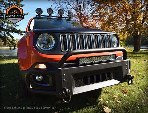 jeep renegade front bumper guard motor city aftermarket