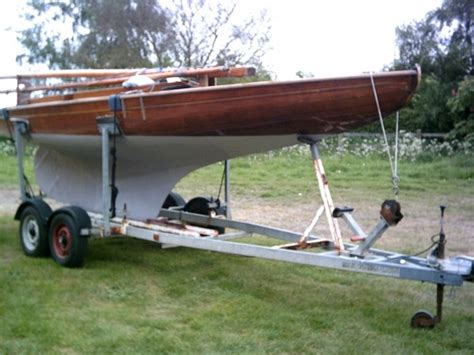 Small Boats For Sale Norfolk Broads by For Sale Broads One Design Brown Wooden Boat