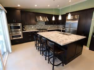 l shaped kitchen with island floor plans rowland heights modern black l shaped kitchen with custom