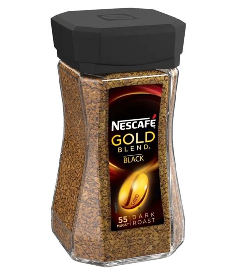 4.3 out of 5 stars 2,308. Nescafe Gold Blend Black Instant Coffee Powder 100 gm: Buy Nescafe Gold Blend Black Instant ...