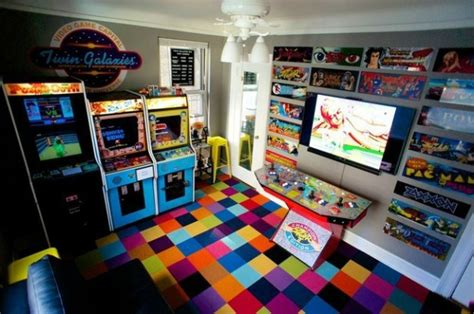 L'arcade Home Interiors : 21 Truly Awesome Video Game Room Ideas