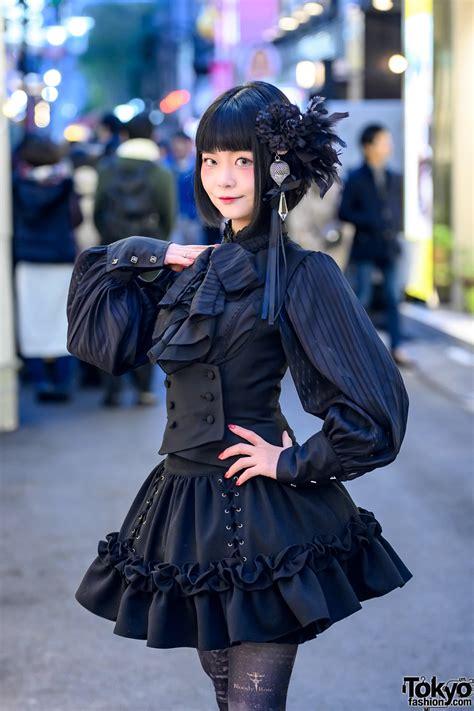 japanese gothic lolita street style   corset top sheglit vest nah bloody rose amber