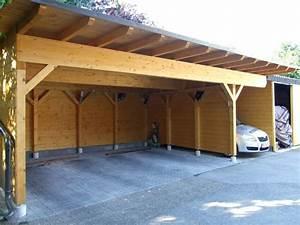 Carport Maße Für 2 Autos : individuelles carport aus vollholz fichte nach ma ~ Michelbontemps.com Haus und Dekorationen