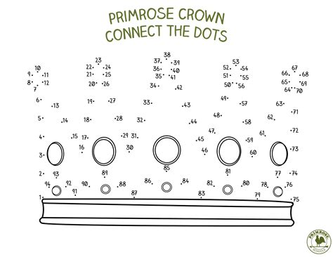 Connect The Dots To Complete The Crown  Primrose Schools