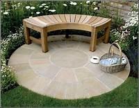 patio design pictures garden patio ideas with round floor design | 2774 ...