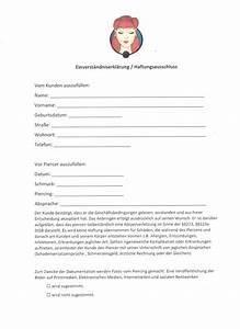 Einverständniserklärung Eltern : einverst ndniserkl rung und risiken ~ Themetempest.com Abrechnung