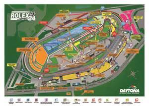 Daytona International Speedway Map