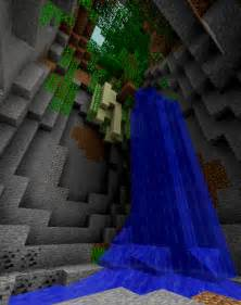 Minecraft Waterfall