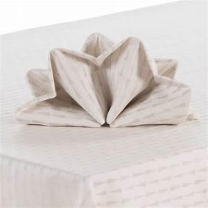 Serviette Carré Blanc : serviette de table come lin carre blanc ~ Teatrodelosmanantiales.com Idées de Décoration