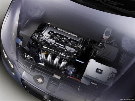 Hyundai Santa Fe Engine Size by Hyundai Santa Fe Blue Hybrid Concept Picture 03 Of 08