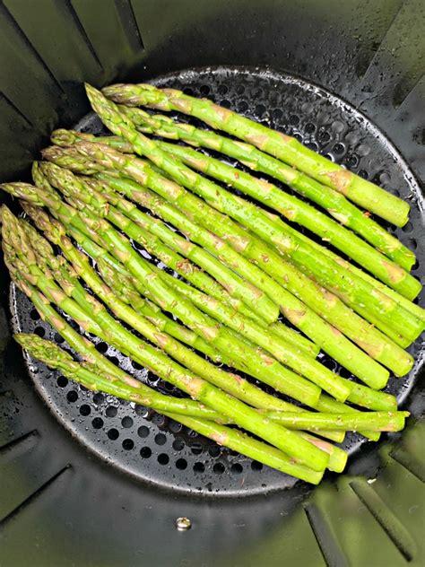 air fryer asparagus cook roasted temperature roast easy vegetables recipe long veggies