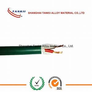 China N Type Thermocouple Cable With Fiberglass Braided