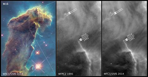 Hubble 'scope snaps ENORMO SPACE ERECTION: Pillars of ...