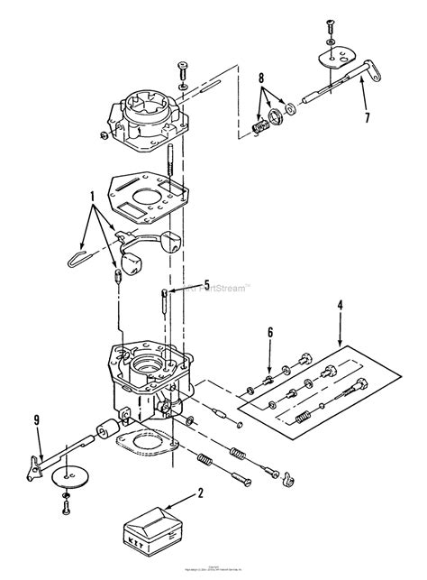 Toro Garden Tractor Parts Diagram