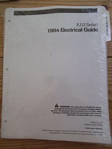 1994 Jaguar Xj12 Electrical Wiring Circuit Diagrams Manual
