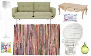 Tapis Boheme Chic : d corer un salon dans le style boh me chic joli place ~ Teatrodelosmanantiales.com Idées de Décoration