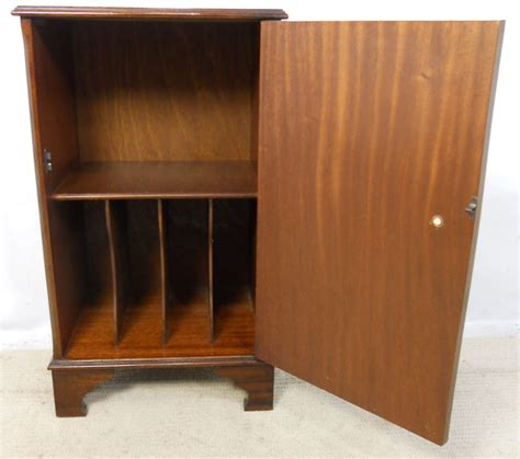 Small Storage Cupboard by Sold Small Mahogany Storage Cupboard