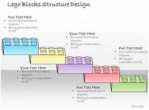 1013 Business Ppt Diagram Lego Blocks Structure Design Powerpoint Template